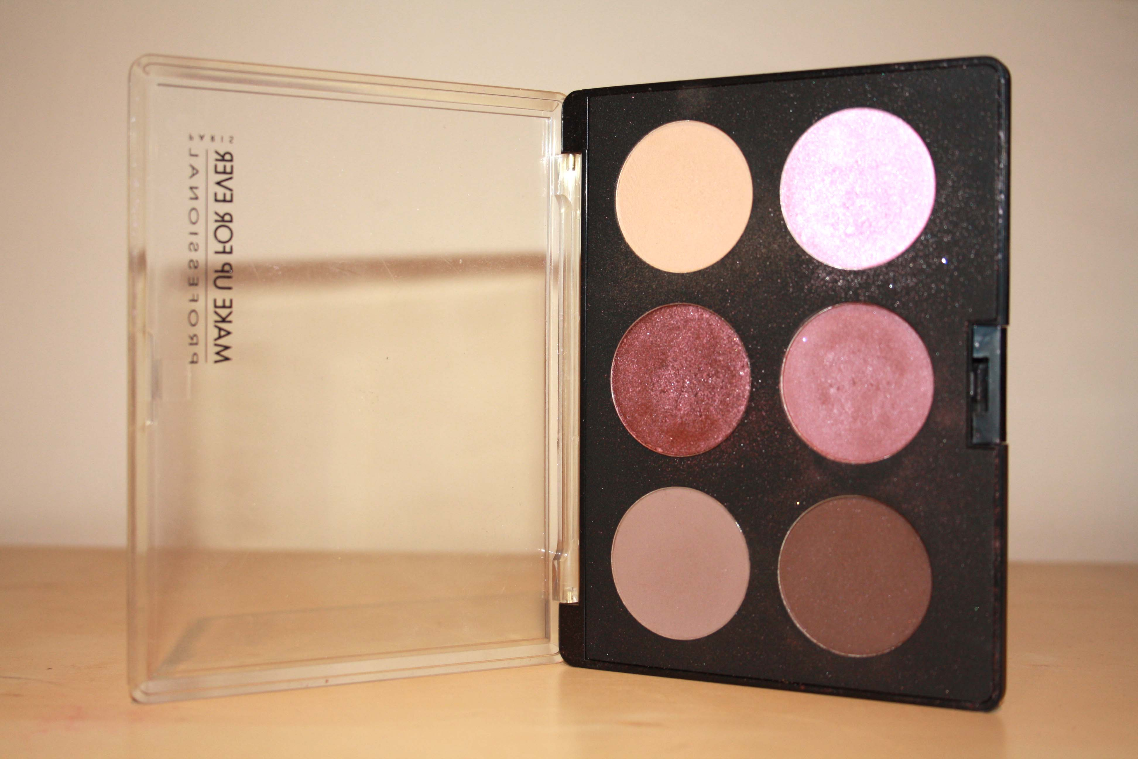 make up forever eyeshadow palette review